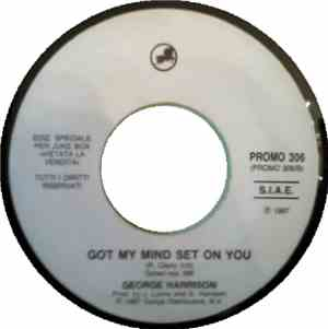 George Harrison / Donna Summer - Got My Mind Set On You / Dinner With Gersh ...