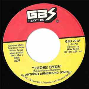 Anthony Armstrong Jones - Those Eyes / One Night At A Time
